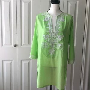 Cover Up Barbara Gerwit Embroidered size S